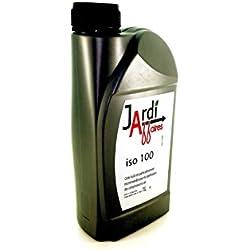 Jardiaffaires Huile Professionnelle compresseur à Piston ISO 100 1 Litre