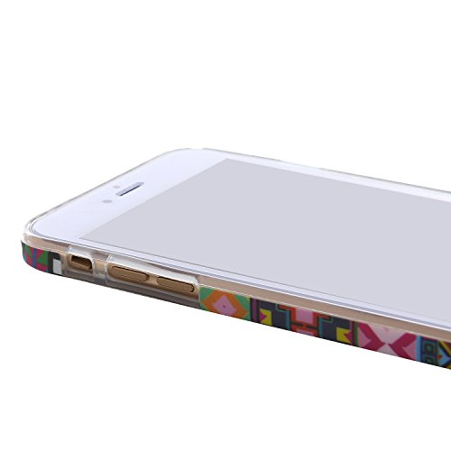 """RE:CRON® iPhone 6 Plus (5,5"""") Design Hülle Cover Case – Retro 1930 Muster 70s Muster"""
