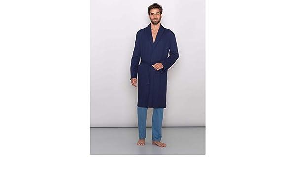 Vestaglia Da Camera Uomo : Linclalor you vestaglia da camera uomo manica lunga blu