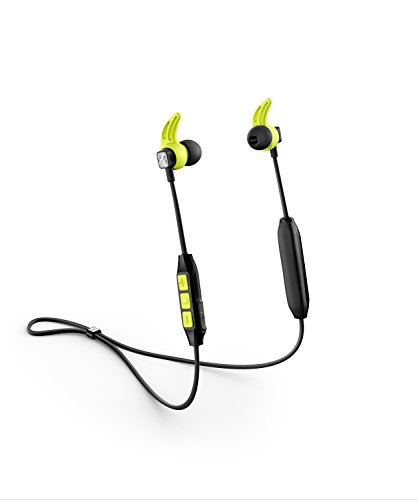 Sennheiser CX Sport Bluetooth In-Ear Wireless Sports Headphone, Black/Yellow Best Price and Cheapest