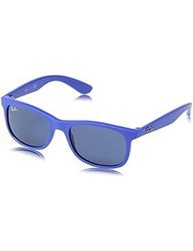 Ray-Ban Junior Gafas de sol Wayfarer en azul mate RJ9062S 701780 48