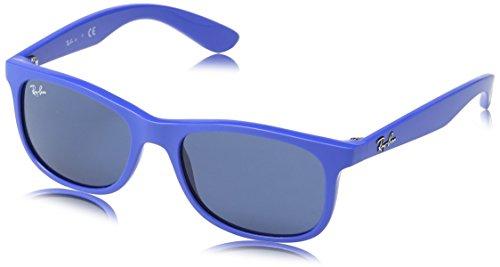 Ray-Ban Unisex Sonnenbrille RJ9062S, (Gestell, Gläser: Blau Klassisch 701780), Medium (Herstellergröße: 48)