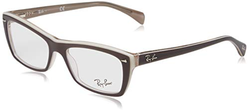 Ray-Ban Damen 0RX5255 Brillengestelle, Grau (Top Grey/Ice/Beige), 53