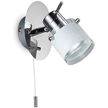 B.K. Licht applique murale LED spécial salle de bain, IP44 ...