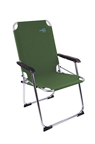 Preisvergleich Produktbild 0 Bo Camp Copa Rio XL - Klapp-Stuhl Aluminium grün 51x58x96cm Belastbarkeit 110kg