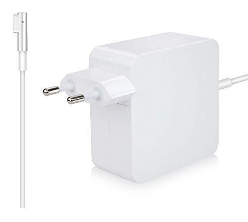 MacBook Pro Ladekabel Netzteil 60W MagSafe 1 L-Stecker Mac Book Pro Ladegerät Kompatibel mit Apple 13 Zoll MacBook Pro - 2008, 2009, 2010, 2011, Mitte 2012 für Modell A1181 A1184 A1185 A1278 A1342 -