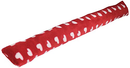 Nappes Du Monde Sweet Lovely Bas de Porte Coral Imprimé Polyester/Fibre Rouge 90 x 10 cm