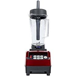 Omniblend Blender Mixeur Pro V TM-800-Cerise , 2 litres Sans BPA – Nouvelle Génération – Garantie 7 ans - Rouge