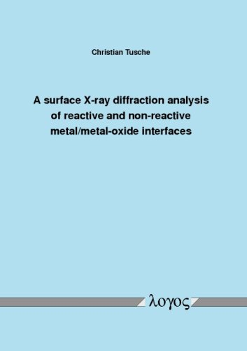 A surface X-ray diffraction analysis of reactive