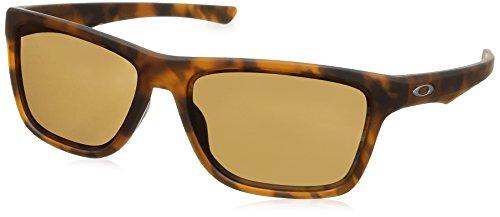 Ray-Ban Herren 0OO9334 Sonnenbrille, Grün (Matte Brown Tortoise), 57