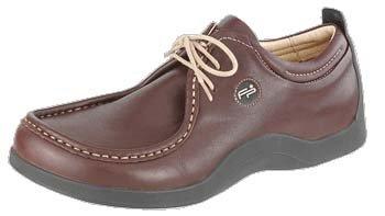 Footprints - pantoufle ''Merida'' de Cuir en Pomme de pin Pomme de pin