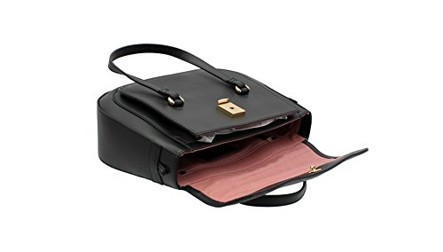 Tula , Sac pour femme à porter à l'épaule, noir (noir) - 8153 noir
