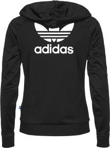 Adidas slim Full Zip à capuche noir
