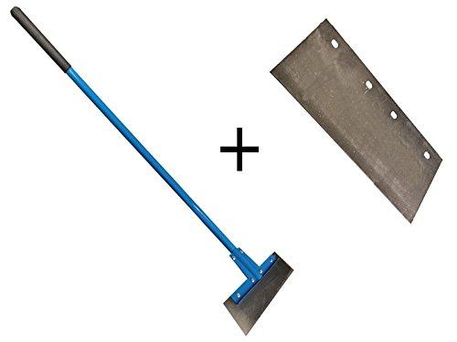 Fußbodenschaber mit 2x austauschbaren Klingen 300 mm