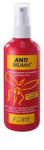 Anti Brumm® Forte Spar-Set 3x150ml. Wirksamer Schutz gegen Mücken, Zecken, Fliegen & Co.