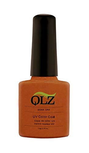 ongles de Kaga Qlz saine Soak Off Vernis à ongles gel, N ° 064, Orange, Chocolat