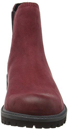 Tamaris 25401, Stivali Chelsea Donna Rosso (Bordeaux 549)