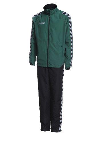 Hummel Kinder Anzug BEE AUTHENTIC MICRO, evergreen/black, 152 ( 12 )