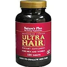 Nature's Plus Ultra Hair S/r Mini-Tabs Pack Of 3 - 120 MINI-TABLETS by Ultra