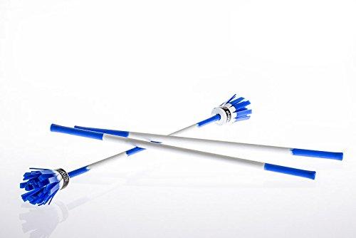 Play Power Flowerstick (Kit - inkl. Handstäbe) (weiß-blau)