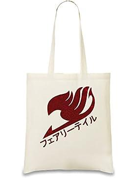 Dragon-Scale Fairy Tail Logo Benutzerdefinierte Gedruckt Tasche Einkaufstasche Tragetasche