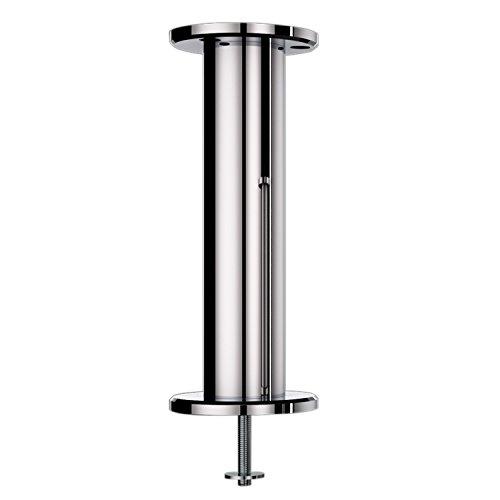 Console bar Irlande droite-50mm-acier inoxydable chromé mat-Hauteur: 230mm-1pièce