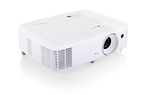 Great Buy for Optoma HD240Wi 1080p Full HD  Limited Edition Projector (Full Lights on Viewing 3000 ANSI Lumens, x2 HDMI with MHL Support and Built-In 10 W Speaker) – White on Line