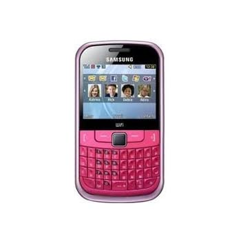 Samsung S3350 Chat Pink 335 Sim Free Mobile Phone