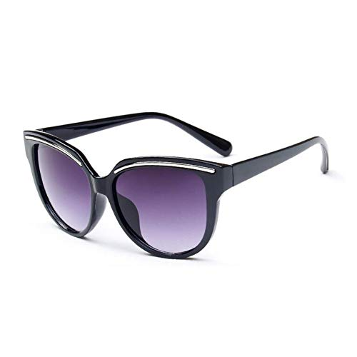 GJYANJING Sonnenbrille Weibliche Nette Cat Eye Sonnenbrille Frauen Beliebte Sonnenbrille Retro Brille Cateye Sunglass Gradienten Brillen