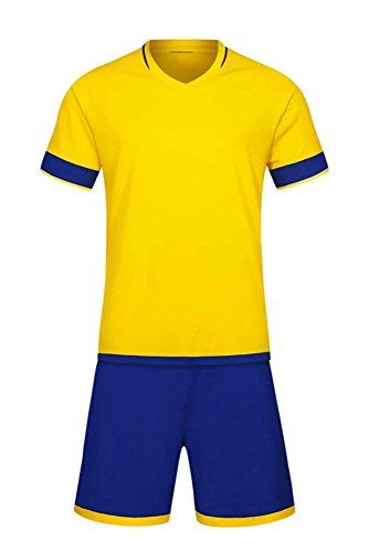 Mädchen Fußball Trikot Kostüm - XFentech Herren Kinder Sommer Sportbekleidung Fußball