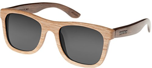 Wood Fellas Unisex Holz-Sonnenbrille Jalo wheat/brown One