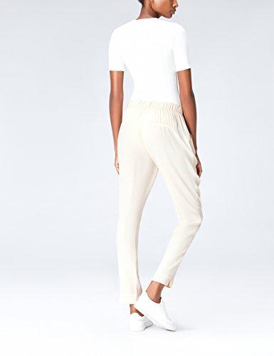 FIND Pantalone Donna con Coulisse Beige (Summer Sand)