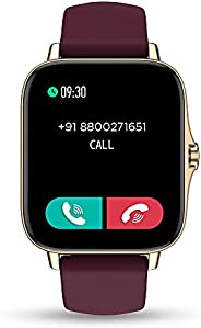 Pebble Cosmos, Bluetooth Calling smartwatch 1.7' HD Screen with SPO2, Built in Thermometer, Multi Sports M