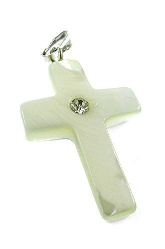 Nazareth Store Schöne Mutter der Perle Hand Made Kreuz Jerusalem von Heiligen Land