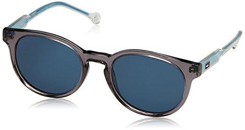 Tommy Hilfiger Unisex-Kinder TH 1426/S 8F Y60 48 Sonnenbrille, Grau (Grey Blu)