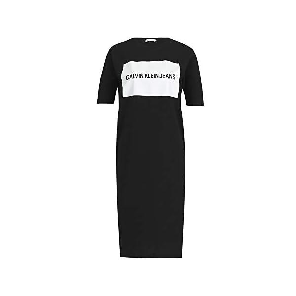 Calvin Klein Vestito Donna INSTITUTIONAL Box Logo Dress J20J207860