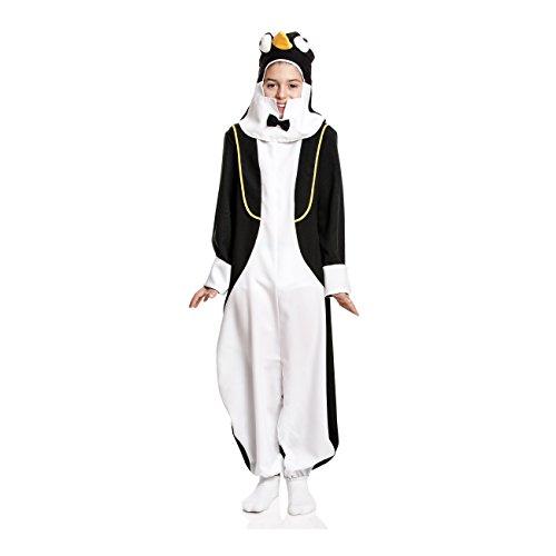 Kostümplanet Pinguin-Kostüm Kinder Kleinkinder Pinguin Overall mit Mütze Größe 116