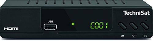 TechniSat HD-C 232 – HDTV-Receiver für digitales Kabelfernsehen – Mit HDMI, SCART und USB 2.0