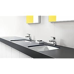 Hansgrohe 71077000 Logis grifo de lavabo 70 con vaciador Push-Open, cromo