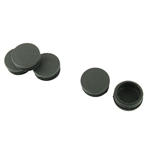 Sourcingmap® 5 Stück Stuhl Tisch Beine 42mm Durchmesser Kunststoffkappe Runde Rohr Einlage de