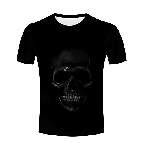 irts Unisex Cool Skull Skeleton Printed Creative Graphics Tees XL (Jack Skeleton T-shirt)