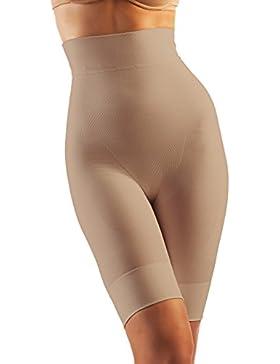 Farmacell Shape 603 Faja pantalon corto de microfibra, contenitivo y moldeador con talle alto