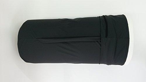 Matchsack für Reise-Matratzenauflage (schwarz)