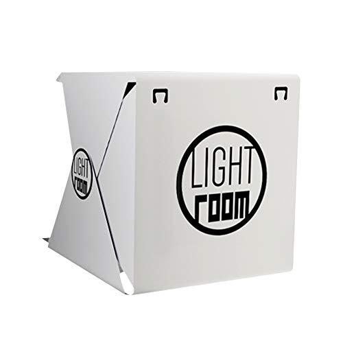 Ruiting Mini Fotografie Studio Zelt Lightroom Kit Home Decor Faltbare Foto-Schießen-Zelt bewegliches LED-Licht-Zelt