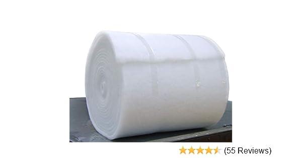 Quilten f/ür Polsterung NightComfort Wattenrolle aus Polyester hypoallergen 68,6 cm breit, 113,4 g, 1 m Polsterm/öbel feuerhemmend 68,6 cm // 137,2 cm breit