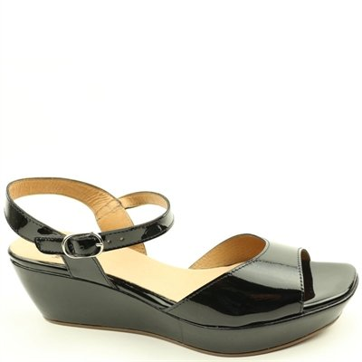Wonders Sandal Charol Black 37