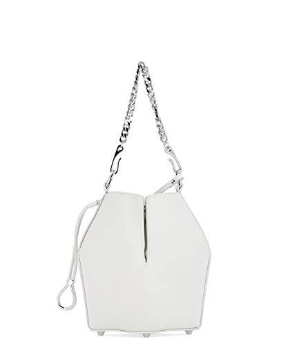 Alexander McQueen Luxury Fashion Donna 5541430SI0I9004 Bianco Borsa A Spalla | Primavera Estate 19