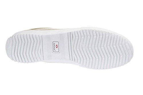 Superga 2832 Cotmetw, Baskets Basses Mixte Adulte Or - Gold (174)