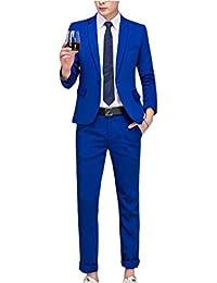 a3fd9842665e Mieuid Men's Blazer Men Blazer Casual Elegant Tuxedo Jackets Slim Fit  Business Chic Suit Jacket Lapel