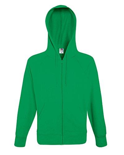fotl Veste à capuche légère pour Jkt Vert - Vert vif